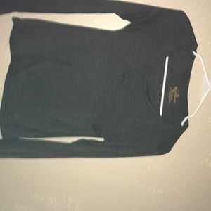 Gray long sleeve comfy shirt